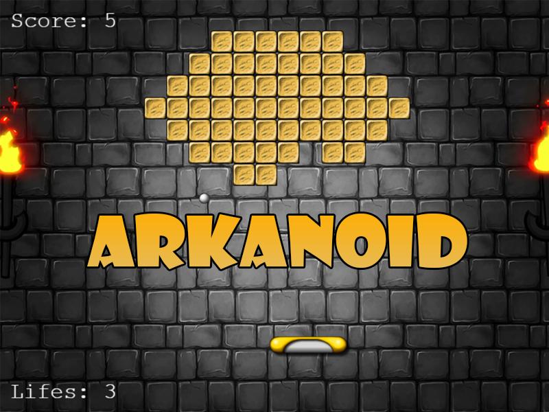 """Курс """"Arkanoid на Phaser"""""""